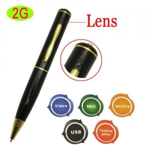 2GB Mini Spy Camera USB Pen + Audio / Video Recording